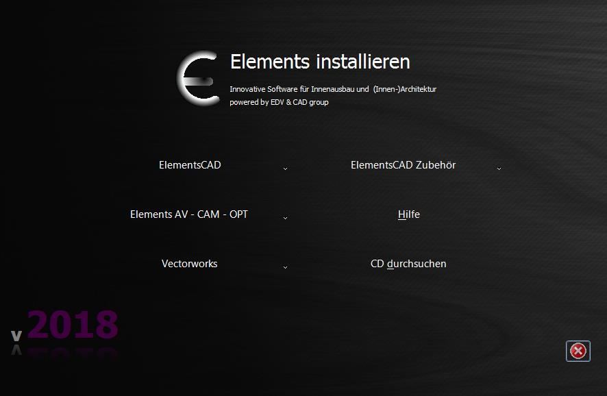 Elements für Vectorworks 2018